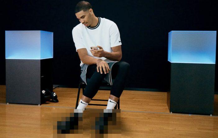 Αθλητικά παπούτσια προσαρμόζονται στο σχήμα του ποδιού, με εντολή από κινητό τηλέφωνο