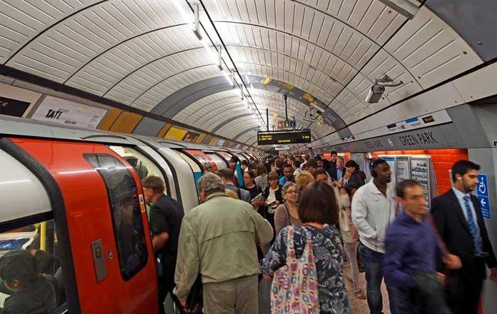 Πολύ υψηλά τα επίπεδα ρύπανσης στο μετρό του Λονδίνου