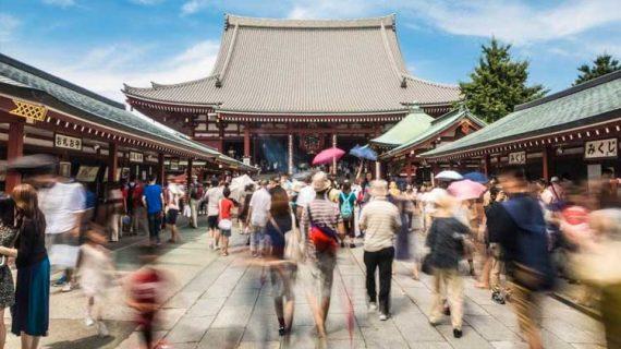 Αφίξεις ρεκόρ 31 εκατομμυρίων τουριστών το 2018 στην Ιαπωνία