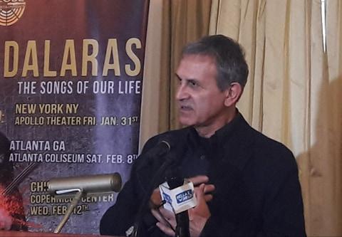 """Γιώργος Νταλάρας: Ότι έκανα για Κύπρο ήταν με καθαρή συνείδηση! Στις ΗΠΑ με """"Τα τραγούδια της ζωής μας""""!"""